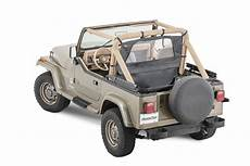 Mastertop Summer Combo Top For 87 91 Jeep Wrangler Yj