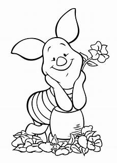 winnie pooh piglet coloring page for free printable