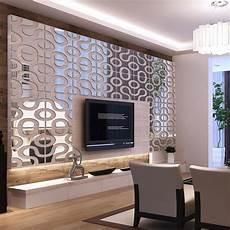 mirror wall decor for living room modern design diy acrylic mirror wall home decor 3d