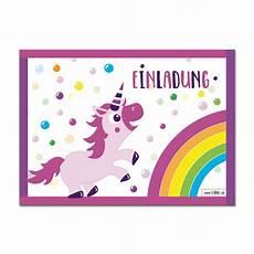 Einhorn Ausmalbild Einladung Einhorn Geburtstag Einladungskarten Im Set Zu 10 St 252 Ck