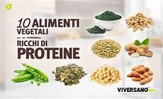 proteine vegetali alimenti 10 alimenti vegetali ricchi di proteine