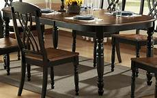 Black Dining Room Table by Homelegance Ohana Black Dining Collection 1393bk Din Set