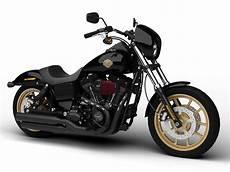 Harley Davidson Dyna - harley davidson fxdl dyna low rider s 2016 3d model max