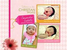invitation card christening layout birthday christening invitation creative
