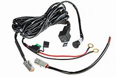 sbl led light wiring harness with switch and relay single channel atp connect