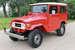 1977 TOYOTA LAND CRUISER FJ 40 2 DOOR HARDTOP  177438
