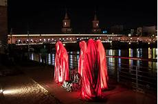 festival of lights berlin guardians of time by manfred kielnhofer