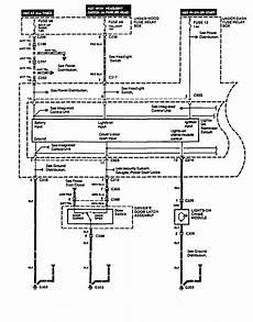 Acura Legend 1994 1995 Wiring Diagram Key Warning