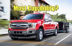 which 2019 half ton truck has the highest payload and
