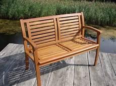 Gartenbank 2 Sitzer Holz - 2 sitzer gartenbank aus bangkirai holz