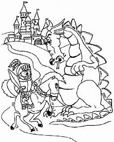 ritter drachen ausmalbilder ausmalbilder webpage