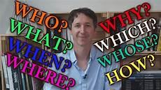 Poser Une Question En Anglais Partie 1 What Where When