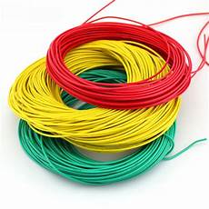multicolored wire cable thin wire black green and blue lines 2mm copper stranded