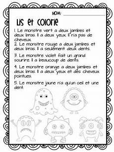 grade 5 immersion grammar worksheets 25143 j aime les monstres activities for grade 2 immersion or