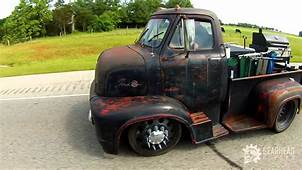 1955 Ford COE Ratrod  YouTube