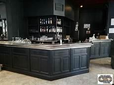 comptoir de bar professionnel comptoir bar brasserie 177 5m x 4m40 r 233 frig 233 r 233 224 quot zinc quot inox