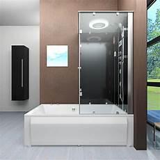 acquavapore dtp50 sw dusch wannen kombi in 180x90cm