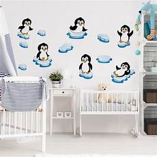 wandtatoo kinderzimmer wandtattoo pinguin kinderzimmer set