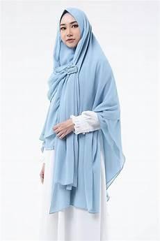 Model Jilbab Syari Untuk Kondangan Voal Motif