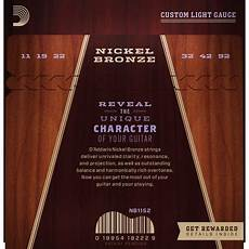 D Addario Nickel Bronze Acoustic Guitar Strings Custom