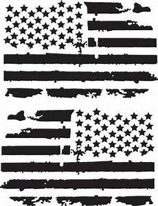 2 6 inch distressed american flags vinyl decals fits jeep trucks uni roe graphics and apparel