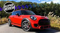 2019 mini jcw review the 2019 mini jcw international orange edition is a fast