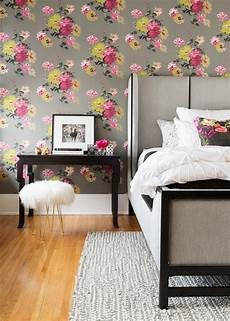 flower wallpaper bedroom new ways to get a farmhouse look hgtv s decorating