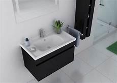 meuble noir salle de bain meuble de salle de bain noir brillant 1 vasque meuble de