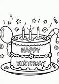 Birthday Coloring Pages For Kids / Party
