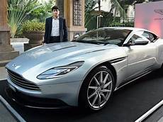 for your eyes only aston martin drives db11 in india at rs 4 27 crore autos car hindustan