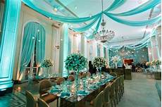 quinceanera decorations turquoise and white theme party