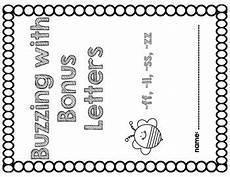 bonus letter worksheets 23982 buzzing with bonus letters teaching consonants ff ll ss zz