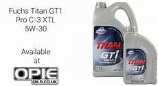 fuchs titan gt1 pro c 3 5w 30 fuchs titan gt1 pro c 3 xtl 5w 30 at opie oils opie oils