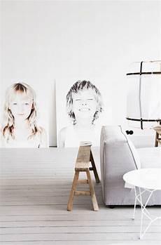 kreative wandgestaltung selber machen fotowand selber machen einrichten wohnen foto kinder