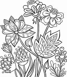 summer flowers coloring pages 10 free printable