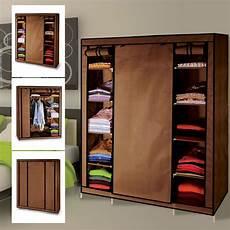 ranger dressing armoire de rangement chocolat dressing penderie tissu