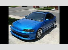 Honda Civic 1995 Coupe Tuning   YouTube