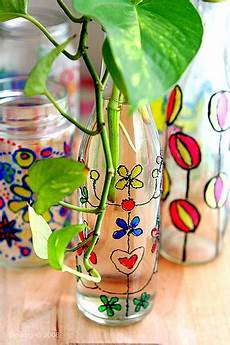 cool glass painting projects diy glass paint