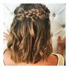 20 prom hairstyles for short medium hair 2019