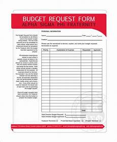 free 9 sle budget request forms in pdf word