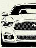 Colorful Pictures Of Muscle Cars  How To Draw A 67 Ford