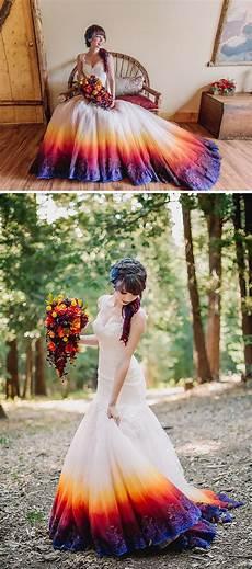 style pantry stylish ombre wedding dresses