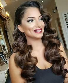 wedding waves hair and makeup in 2019 vintage wedding hair vintage hairstyles for