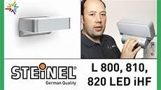 steinel l 800 led ihf l 810 led ihf l 820 led ihf sensor