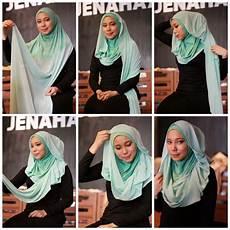 Gambar Tutorial Pashmina Hamidah Modernhijab77