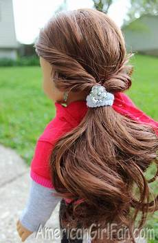 easy sporty hairstyle for dolls it s a doll s world pinterest