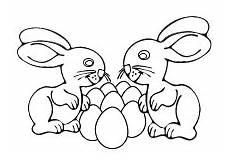 ausmalbild osterhase mit eier ausmalbilder ostern osterhase ostereier kinder malvorlagen