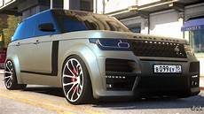 Range Rover Vogue Tuning For Gta 4