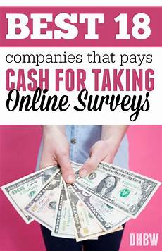 best companies that pays for taking surveys