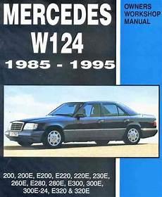 vehicle repair manual 1993 mercedes benz 300e security system mercedes benz w124 1985 1995 owners service repair manual 0958402612 9780958402613